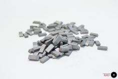 Pastillas de carburo de tungsteno    (2.5mm x 4.3mm x 10.6mm)